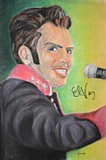 Rock N Roll Mixed Media Originals - Mexican Elvis by Craig Kennedy