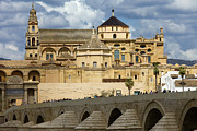 Medieval Temple Photo Prints - Mezquita Cathedral in Cordoba Print by Artur Bogacki