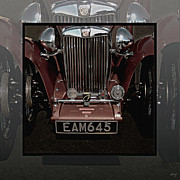 Curt Johnson Acrylic Prints - MG TC Bronze Frontal Acrylic Print by Curt Johnson