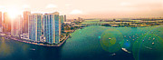 1 Miami Print by Michael Guirguis