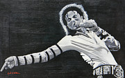 Beat It Prints - Michael Jackson 1988 Print by Jared Wilkins