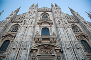 Old Milano Prints - Milan Cathedral Duomo Print by Michal Bednarek