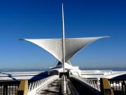 Art Museum Prints - Milwaukee Art Museum Print by David Bearden