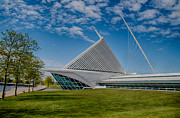 Art Museum Prints - Milwaukee Art Museum Print by Mike Burgquist