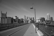 Blacktop Prints - Minneapolis Skyline Print by Frank Romeo