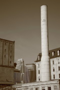 Wall Art - Office Decor - Minneapolis Smokestack by Frank Romeo