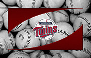Field Posters - Minnesota Twins Poster by Joe Hamilton