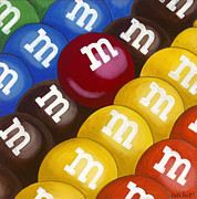 Mnm Paintings - MnMs by Carla Bank