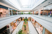 Hurry Art - Modern shopping mall by Michal Bednarek