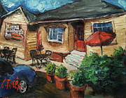 Auburn Paintings - Momma Gs by Carole Foret