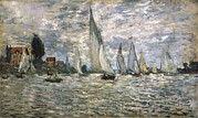 Technical Photos - Monet, Claude 1840-1926. The Boats, Or by Everett