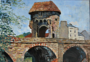 Sheila West - Monmouth bridge