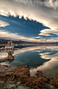 Lake Art - Mono Lake by Cat Connor