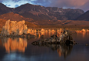 Mono Lake Framed Prints - Mono Lake Sunset Framed Print by Dave Dilli