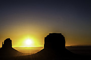 R Arizona Prints - Monument Valley Sunrise Print by Thomas R Fletcher