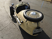 Curt Johnson Acrylic Prints - Morgan Spare Tire Acrylic Print by Curt Johnson
