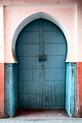 Moroccan Photo Posters - Moroccan Door Poster by Sophie Vigneault