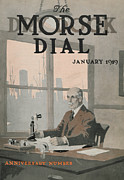 Portrait Of Old Man Posters - Morse Dry Dock Dial Poster by Edward Hopper