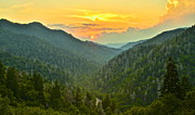 Rocky Mountain Foothills Posters - Mortons Overlook Poster by Robert Harmon