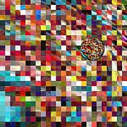 #1 Mosaic Series Print by George Curington
