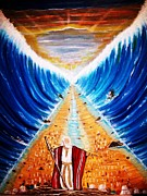Liberation Painting Prints - Moses. Print by Roejae Baptiste