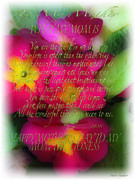 Mothers Day Poem Print by Debra     Vatalaro