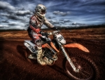 Ktm Framed Prints - Motocross Framed Print by Sam Smith Photography