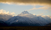 Mount Cook New Zeland Print by Tim Hester