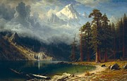 Famous Artists - Mount Corcoran by Albert Bierstadt