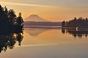 Featured On Fineart America - Mount Rainier Dawn by Sean Griffin