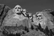 Abe Photos - Mount Rushmore by Frank Romeo