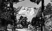 Thomas Jefferson Posters - Mount Rushmore In South Dakota Poster by Underwood Archives
