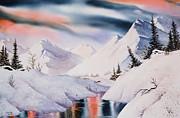 Mountain Majesty Print by Teresa Ascone