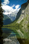 Beautiful Landscapes Posters - Mountainscape Poster by Frank Tschakert