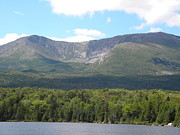 Mt. Katahdin Framed Prints - Mt. Katahdin Framed Print by James Petersen