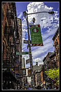 Lamp Post Framed Prints - Mulberry St - NYC Framed Print by Madeline Ellis