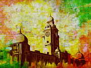 Great Painting Prints - Municipal Corporation Karachi Print by Catf