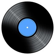 Vinyl Record Digital Art - Music Record by Henrik Lehnerer