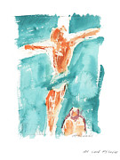 Original Texas Whimsey Prints - My Lord My Savior Print by Kathleen McElwaine