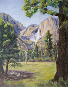 Spring Time Painting Originals - Nap time at Yosemite by Donna Oshea