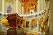 Tomb Photos - Napoleon Tomb - Paris by Brian Jannsen