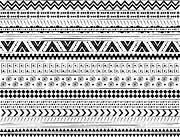 Navajo Surf Repeat Print Print by Susan Claire