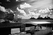 Warships Framed Prints - Navy Warships Key West Harbor Florida Usa Framed Print by Joe Fox