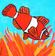 Brandon Drucker Prints - Nemo Print by Brandon Drucker