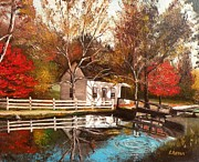 Eileen Patten Oliver - New Hampshire Autumn
