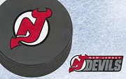Skate Photos - New Jersey Devils by Joe Hamilton