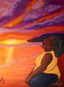 Black Woman Praying Posters - New Mercies Poster by Pamorama Jones