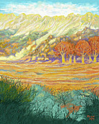 Foothills Pastels - New Mexico Foothills by Donn Kay 
