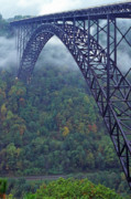 Fayette County Framed Prints - New River Gorge Bridge Framed Print by Thomas R Fletcher