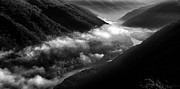 River. Clouds Prints - New River Gorge National River Print by Thomas R Fletcher
